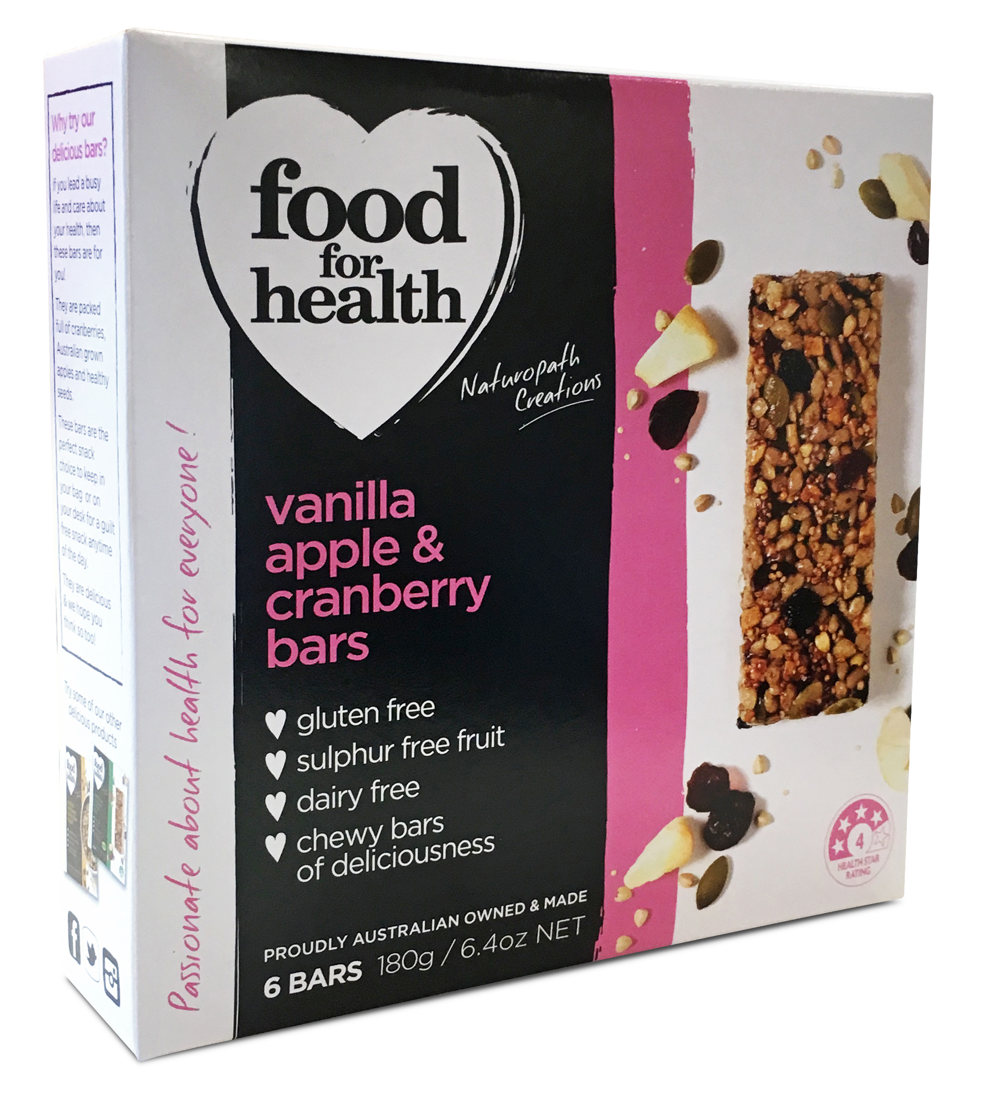 Cranberry bars - Food for Health